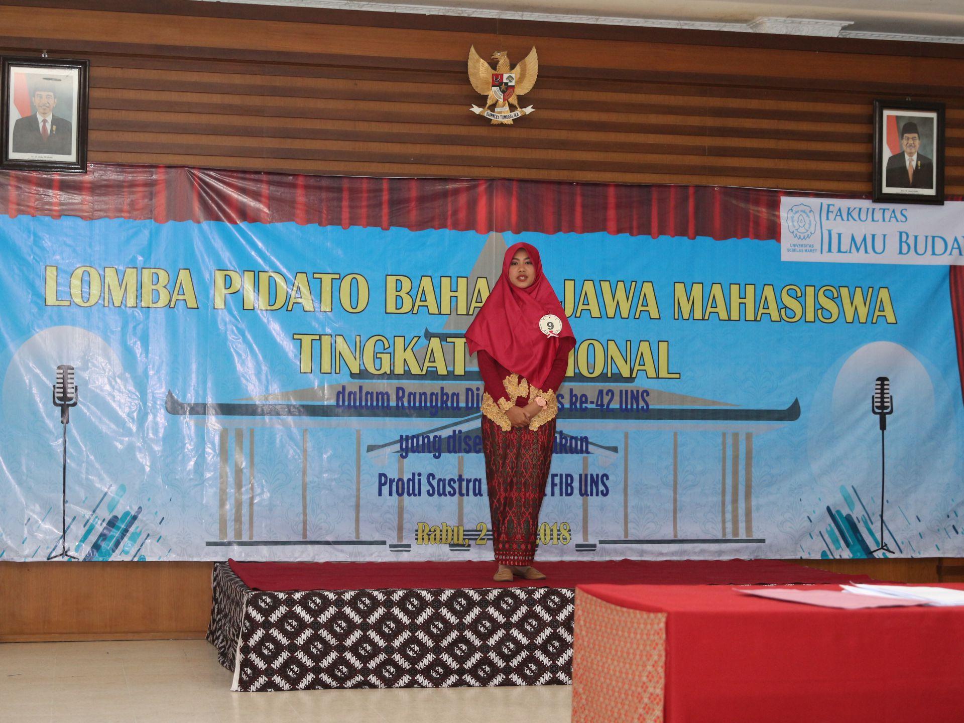 Javanese Speech Competition